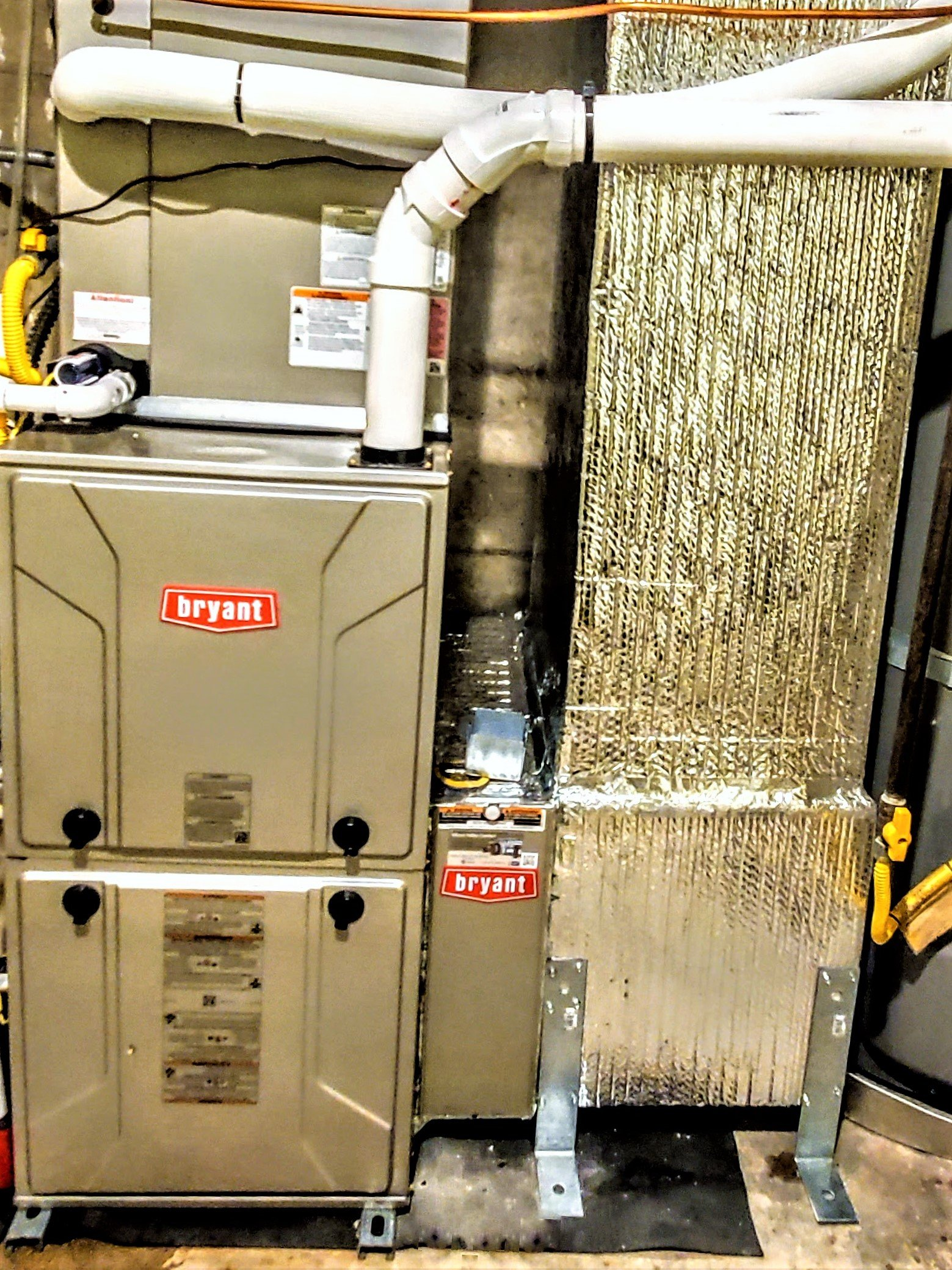 Bryant Evolution Variable-Speed 987B Gas Furnace With Modulating Gas Valve Regulator, Installed In West San Jose