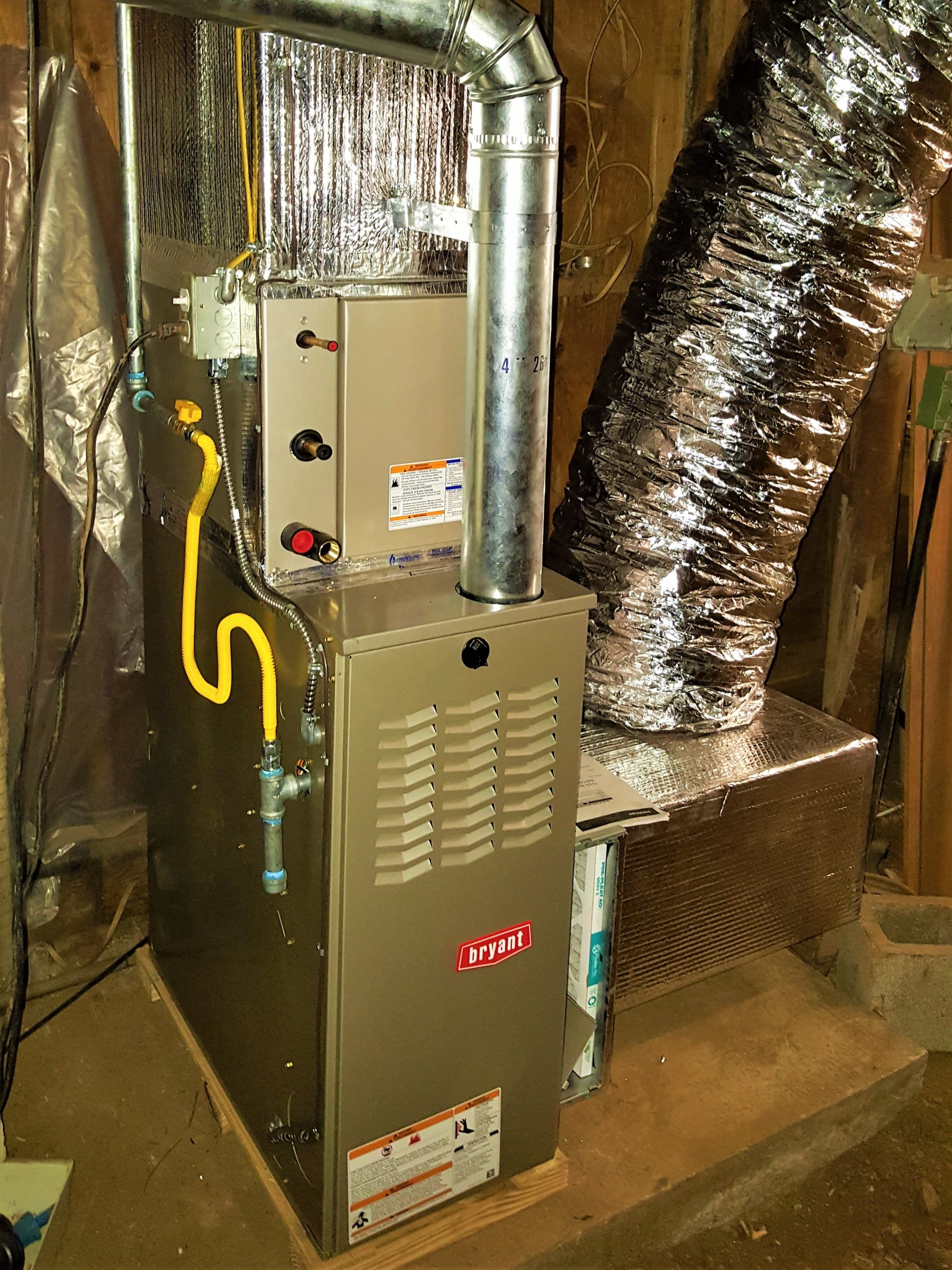 Gas Furnace Installation In Old Almaden Area