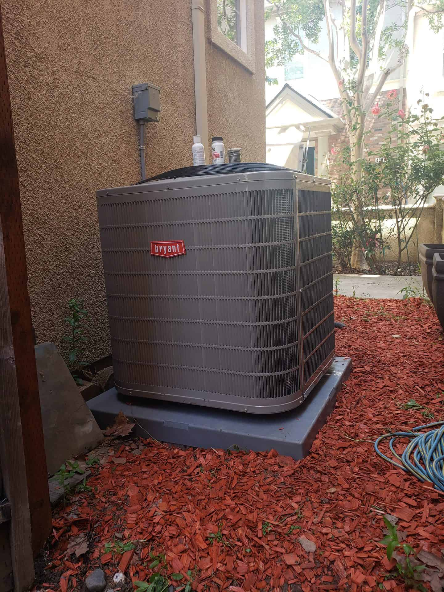 Bryant Preferred 2-Stage Air Conditioner Model 127a Installed by SVC