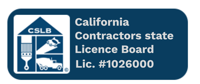 My Contractors State License Number and CSLB logo