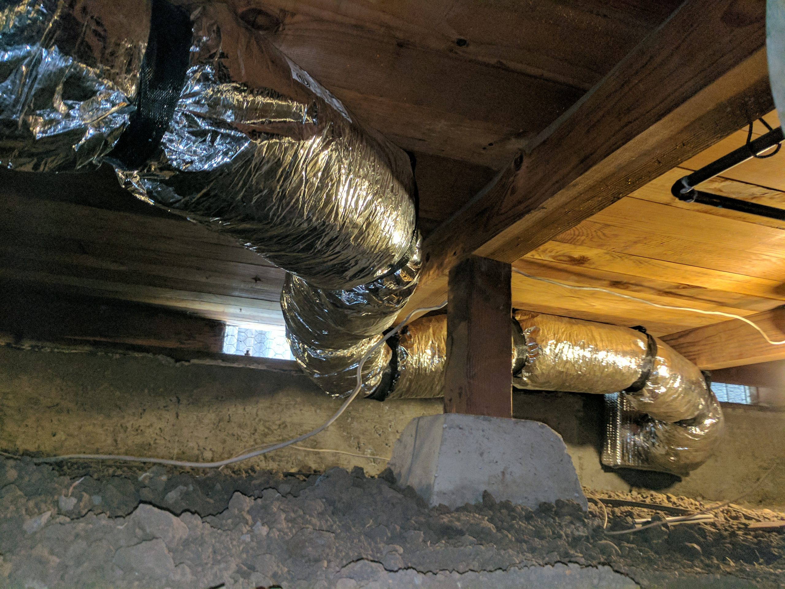 Ductwork Installed By Silicon Valley Comfort
